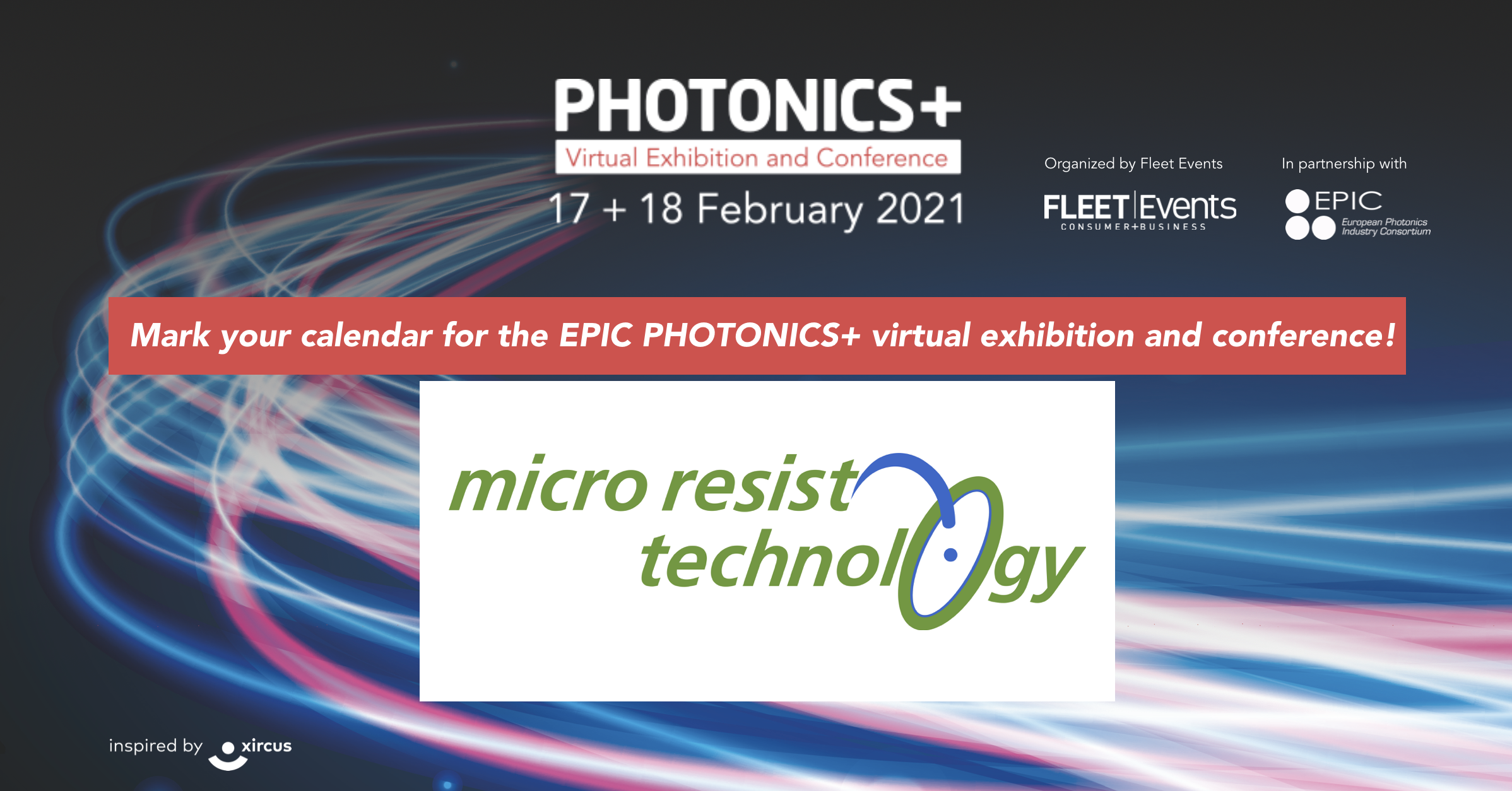 Virtual Exhibition and Conference PHOTONICS+
